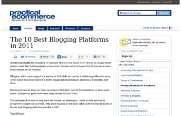 http://www.practicalecommerce.com/articles/3083-The-10-Best-Blogging-Platforms-in-2011