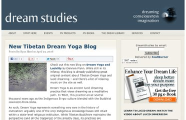 http://dreamstudies.org/2008/04/29/new-tibetan-dream-yoga-blog/