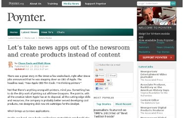 http://www.poynter.org/latest-news/media-lab/mobile-media/148871/lets-take-news-apps-out-of-the-newsroom-and-create-products-instead-of-content/#.TpgKamfnF74.twitter