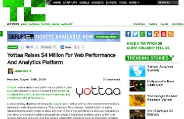 http://techcrunch.com/2010/08/30/yottaa-raises-4-million-for-web-performance-and-analytics-platform/