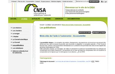 http://www.cnsa.fr/article.php3?id_article=967