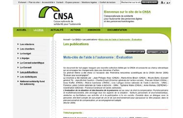 http://www.cnsa.fr/article.php3?id_article=588