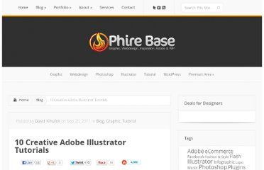 http://phirebase.com/blog/10-creative-adobe-illustrator-tutorials/
