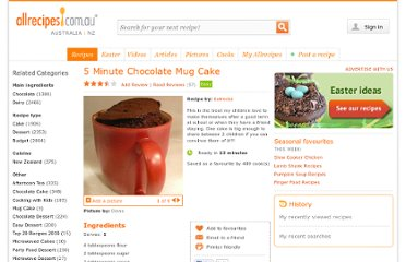 http://allrecipes.com.au/recipe/9198/5-minute-chocolate-mug-cake.aspx