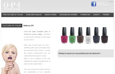 http://www.opi-sobe.ch/ongles-vernis-matte-collection#