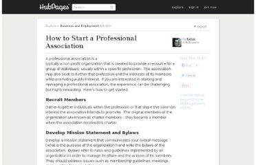 http://kelsik.hubpages.com/hub/How-to-Start-a-Professional-Association