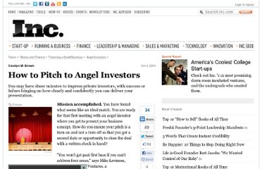 http://www.inc.com/guides/2010/10/how-to-pitch-to-angel-investors.html