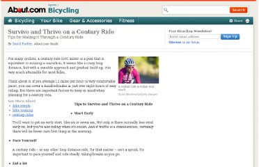 http://bicycling.about.com/od/trainingandfitness/a/century_tips.htm