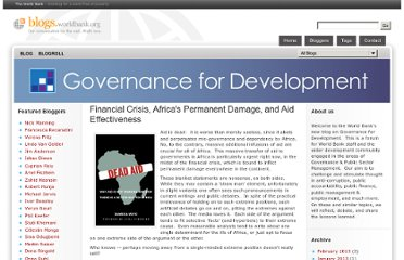http://blogs.worldbank.org/governance/financial-crisis-africas-permanent-damage-and-aid-effectiveness