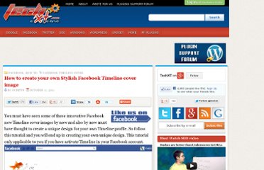 http://techxt.com/2011/10/11/how-to-create-your-own-stylish-facebook-timeline-cover-image/