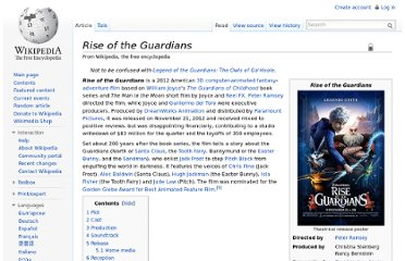 http://en.wikipedia.org/wiki/Rise_of_the_Guardians