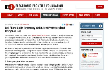 https://www.eff.org/deeplinks/2011/10/cell-phone-guide-occupy-wall-street-protesters-and-everyone-else