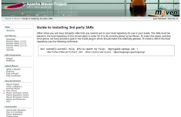 http://maven.apache.org/guides/mini/guide-3rd-party-jars-local.html