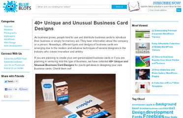 http://blueblots.com/inspiration/40-unique-and-unusual-business-card-designs/
