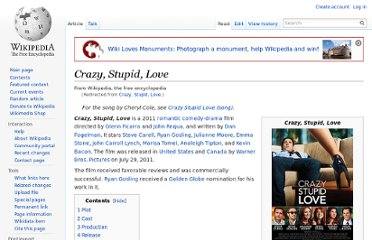 http://en.wikipedia.org/wiki/Crazy,_Stupid,_Love.