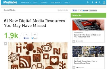 http://mashable.com/2011/10/15/digital-media-resources-3-2/