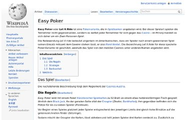 http://de.wikipedia.org/wiki/Easy_Poker