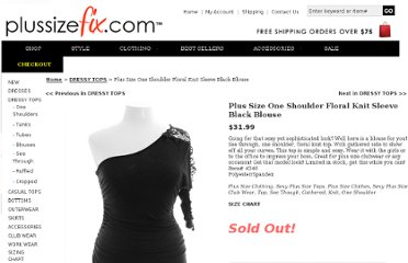 http://www.plussizefix.com/plus-size-one-shoulder-floral-knit-black-blouse.aspx