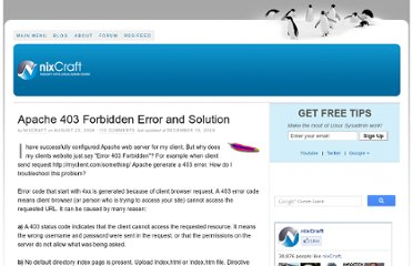 http://www.cyberciti.biz/faq/apache-403-forbidden-error-and-solution/