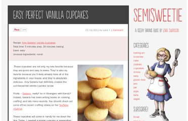 http://semisweetie.com/cupcake-recipe/easy-perfect-vanilla-cupcakes/#more-665