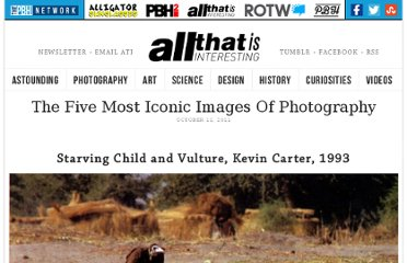 http://all-that-is-interesting.com/post/11320593838/the-five-most-iconic-images-of-photography