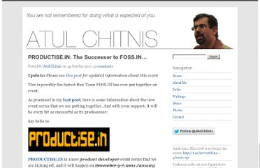 http://atulchitnis.net/2011/the-successor-to-foss-in/