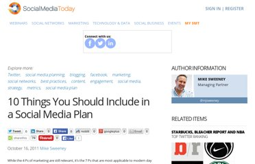 http://socialmediatoday.com/mike-sweeney/376177/10-things-you-should-include-social-media-plan