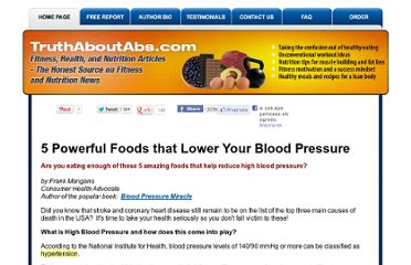 http://www.truthaboutabs.com/foods-to-lower-blood-pressure.html