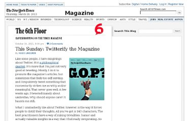 http://6thfloor.blogs.nytimes.com/2011/10/14/this-sunday-twitterify-the-magazine/