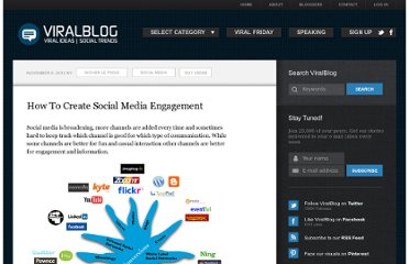 http://www.viralblog.com/social-media/interaction-or-engagement-through-social-media-channels/