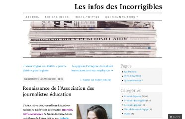 http://incorrigibles.wordpress.com/2011/10/14/renaissance-de-lassociation-des-journalistes-education/