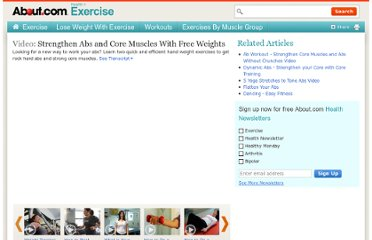 http://video.about.com/exercise/Core-and-abdominal-strengthing.htm
