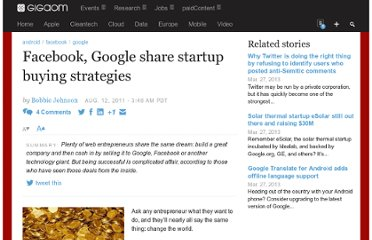 http://gigaom.com/2011/08/12/can-startups-ever-be-too-successful/