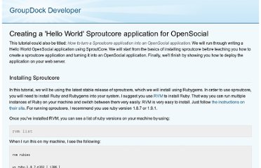 http://dev.groupdock.com/tutorials/sproutcore-opensocial-hello-world.html