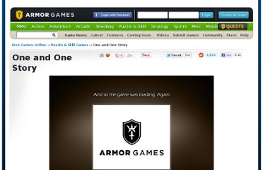 http://armorgames.com/play/12409/one-and-one-story