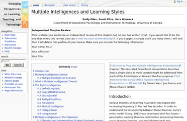 http://projects.coe.uga.edu/epltt/index.php?title=Multiple_Intelligences_and_Learning_Styles