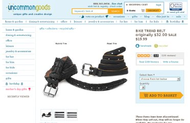 http://www.uncommongoods.com/product/bike-tread-belt