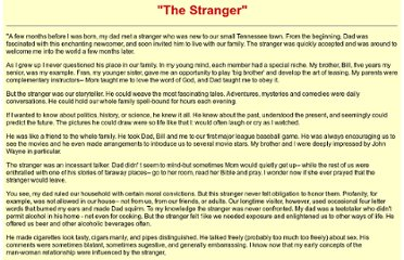 http://www.biblebelievers.com/The_Stranger.html