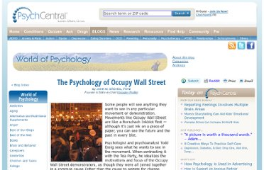 http://psychcentral.com/blog/archives/2011/10/16/the-psychology-of-occupy-wall-street/