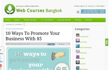 http://www.webcoursesbangkok.com/blog/10-ways-to-promote-your-business-with-5/