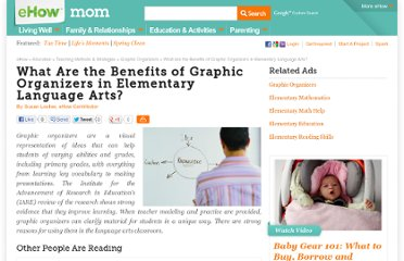 http://www.ehow.com/info_10007073_benefits-graphic-organizers-elementary-language-arts.html