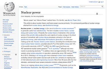 http://en.wikipedia.org/wiki/Nuclear_power