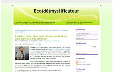 http://ecodemystificateur.blog.free.fr/index.php?post/Fr%C3%A9d%C3%A9ric-Lordon-clivage-gauche-droite