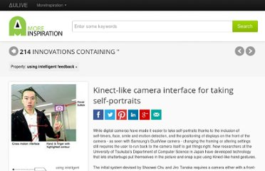http://www.moreinspiration.com/article/4758-kinect-like-camera-interface-for-taking-self-portraits?p=using%20intelligent%20feedback
