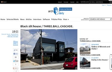 http://www.archdaily.com/161358/black-slit-house-three-ball-cascade/