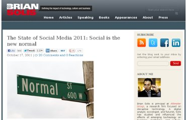 http://www.briansolis.com/2011/10/state-of-social-media-2011/