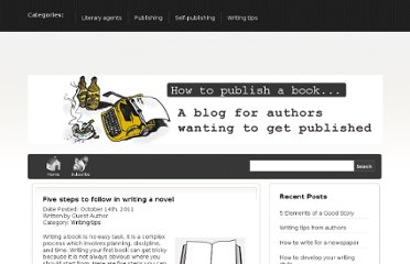 http://www.howto-publish-a-book.com/blog/five-steps-to-follow-in-writing-a-novel/