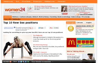 http://www.women24.com/LoveAndSex/SexAndSizzle/Top-10-Sex-positions-20100624