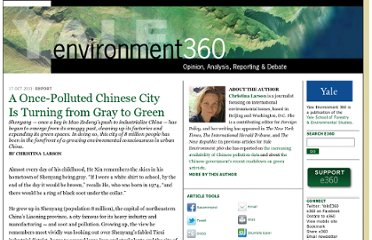 http://e360.yale.edu/feature/shenyang_a_once-polluted_china_city_is_turning_from_gray_to_green/2454/