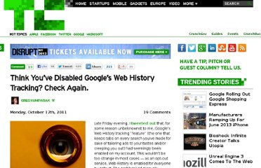 http://techcrunch.com/2011/10/17/disable-google-web-history/